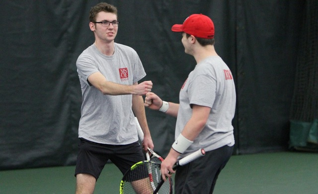 Men's Tennis Edged by Eagles in NACC Semifinals