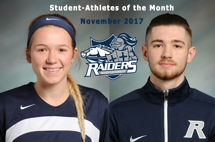 Kaylee Kacavas, L'Heureux tabbed November Student-Athletes of the Month