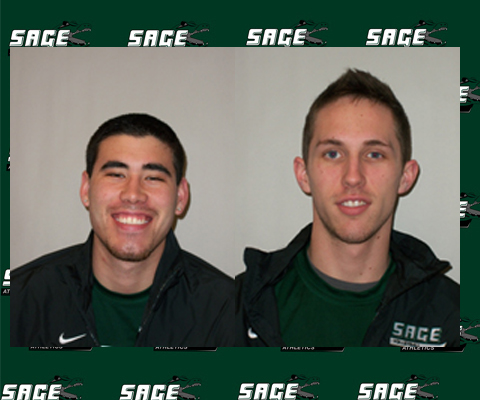 Ray and Hilland Named Team Captains for Men's Volleyball Team