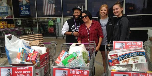 UMW SAAC Leads Way in Holiday Food Drive