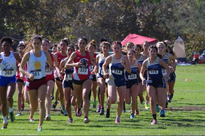 At the Golden West Invitational, the Cerritos women took ninth place