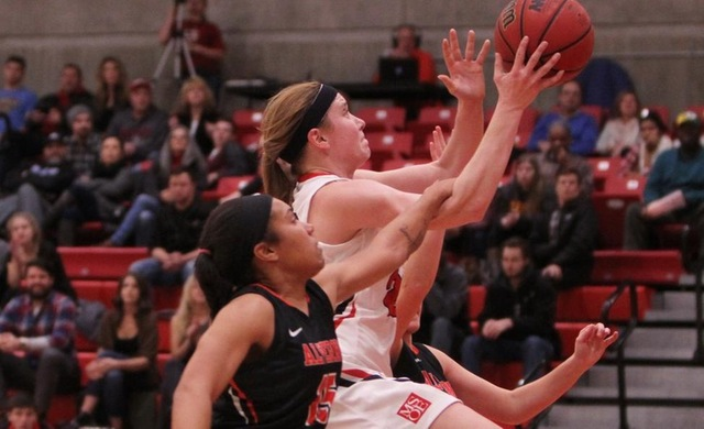 Big Second Half Propels Women's Basketball Past Aurora