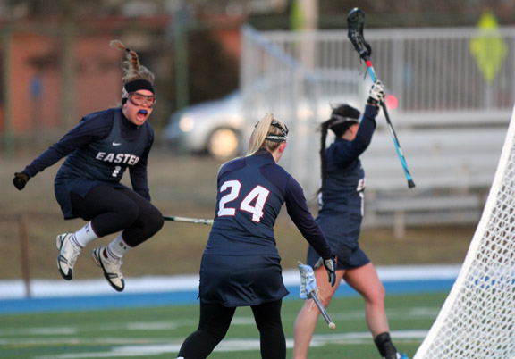 Eastern Goes Overtime to Trim Salve Regina, 9-8