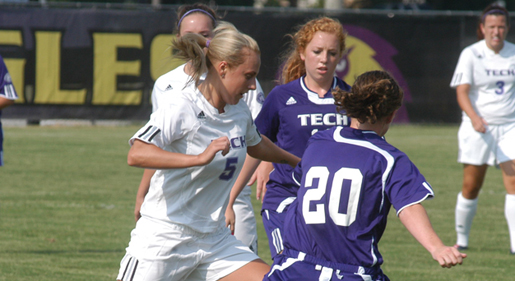 Thacker posts fourth career shutout as Golden Eagles battle Morehead State to scoreless tie