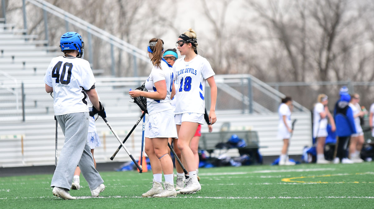 Women's Lacrosse Concludes Regular Season with 19-2 Win Against Aquinas Saints; Wait for WHAC Tournament to Begin