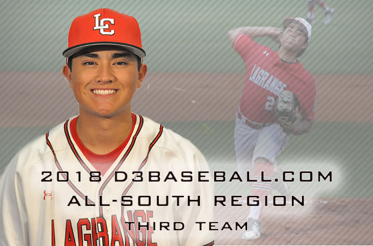 Baseball: Gibson Bittner selected to D3baseball.com All-South Region third team