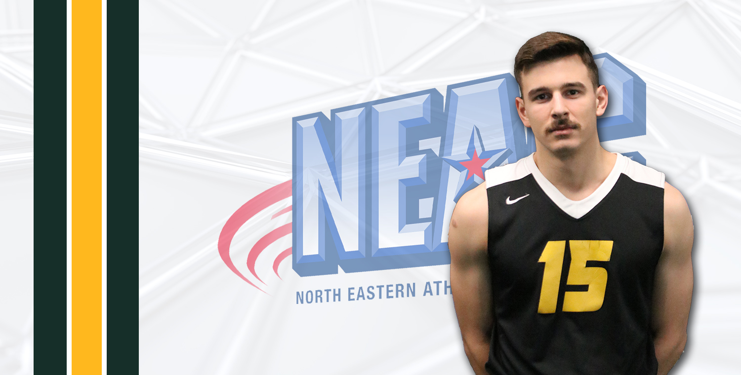 NEAC Tabs Emmett O'Brien as Defensive Player of the Week