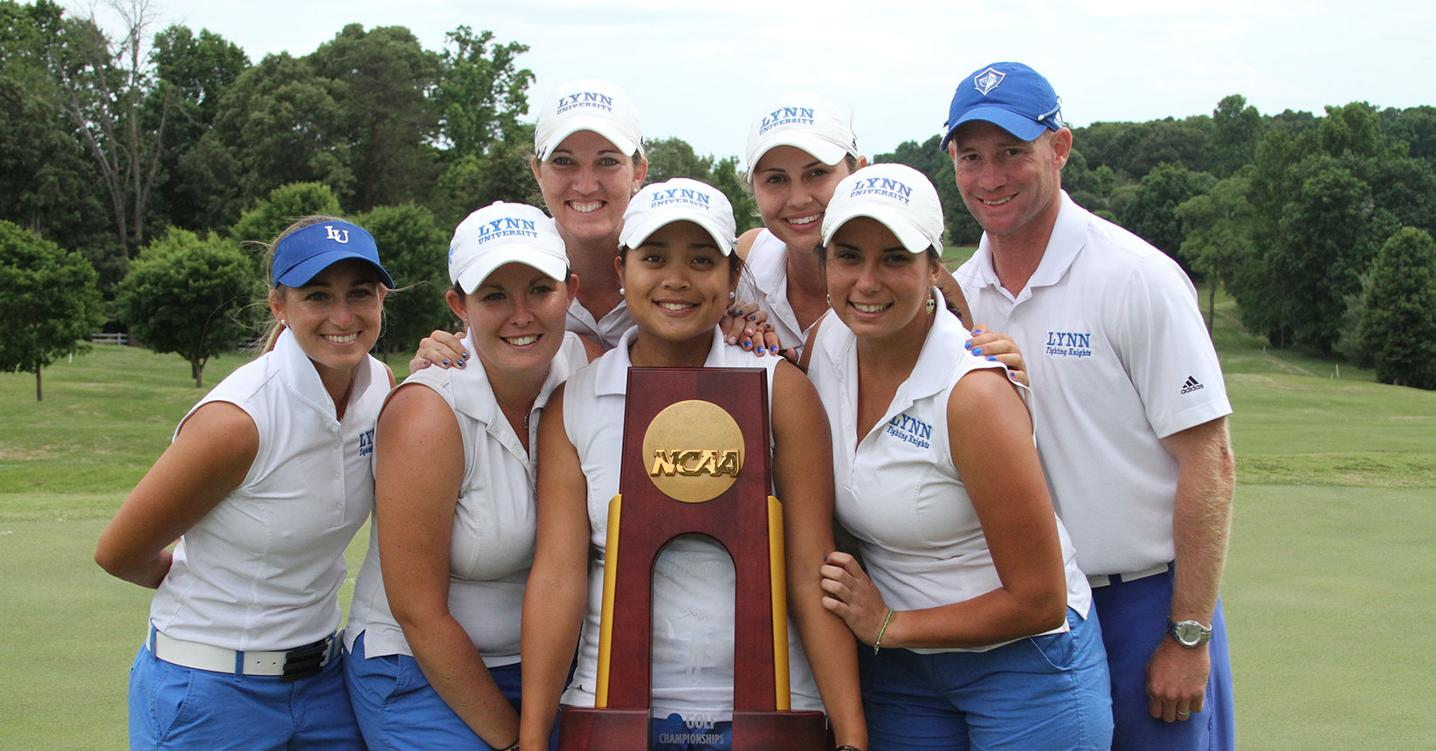 Back-to-Back Champs! Women's Golf Repeats as Division II National Champions