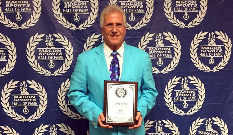Clifton Inducted into Macon Sports Hall of Fame