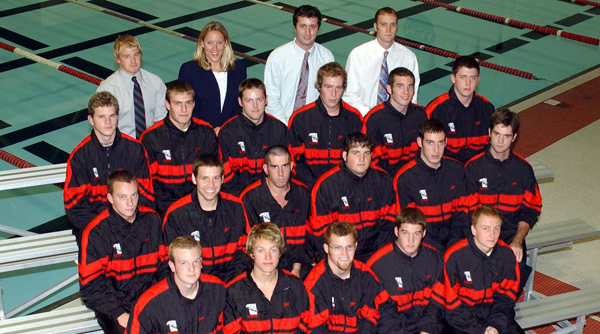 2003-04 Wittenberg Men's Swimming and Diving