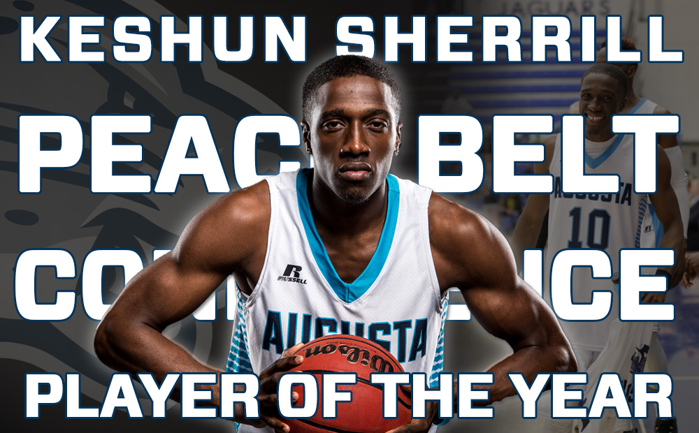 Keshun Sherrill Voted Peach Belt Player of The Year