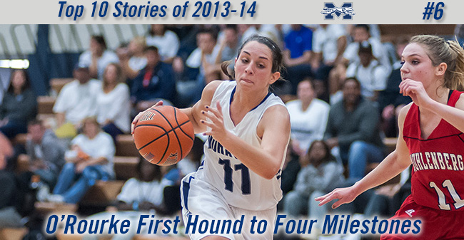 Top 10 Stories of 2013-14 - #6 O'Rourke First Hound to Reach Four Milestones