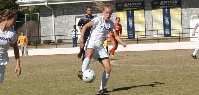 #7 Emory Women's Soccer Season Ends with Loss to #2 Hardin-Simmons in NCAA Quarterfinals