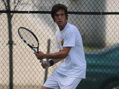 Simon Andersson has now won ECC Rookie of the Week honors four times this season.