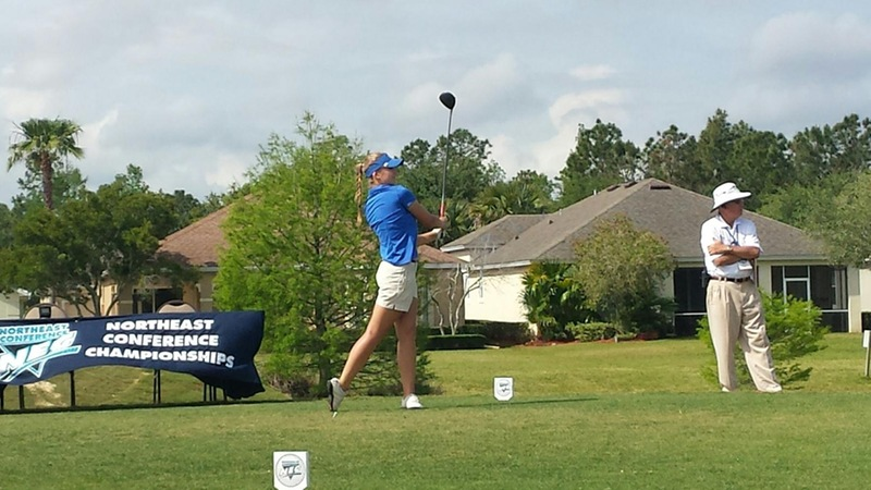 Women's Golf Finishes Fourth, Abrahamova Third at Northeast Conference Championships