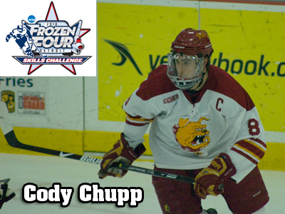 Cody Chupp Selected For Frozen Four Skills Challenge