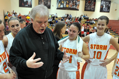 Niemuth wins 500th game, Storm top Loras