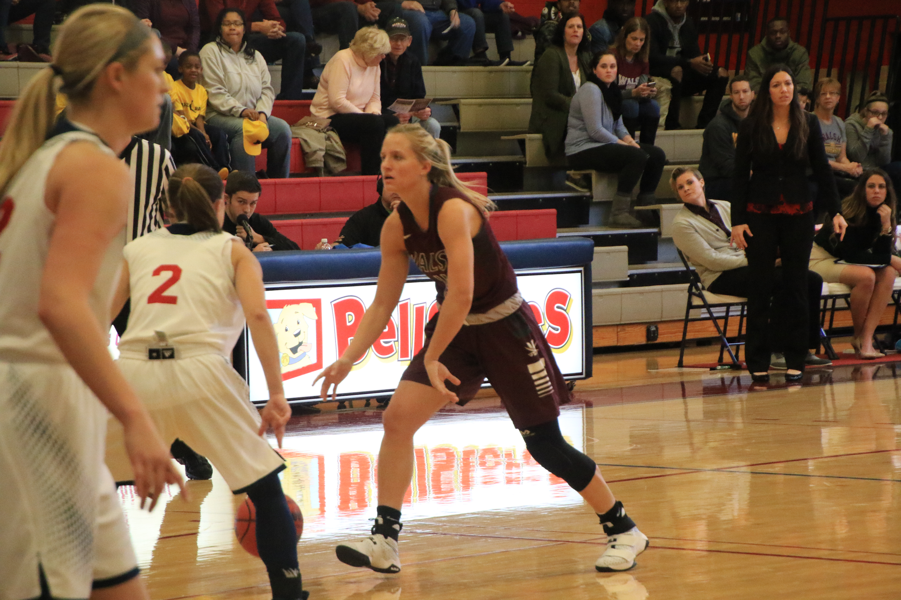 Walsh Women Open Up New Year With Wayne State