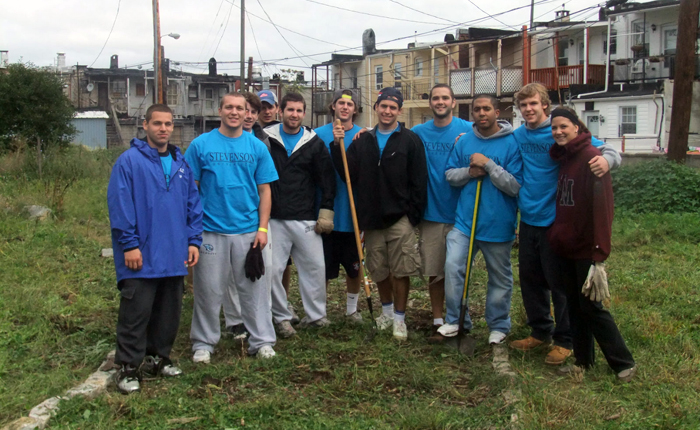 Stevenson Student-Athletes Participate in Annual Building Community Day