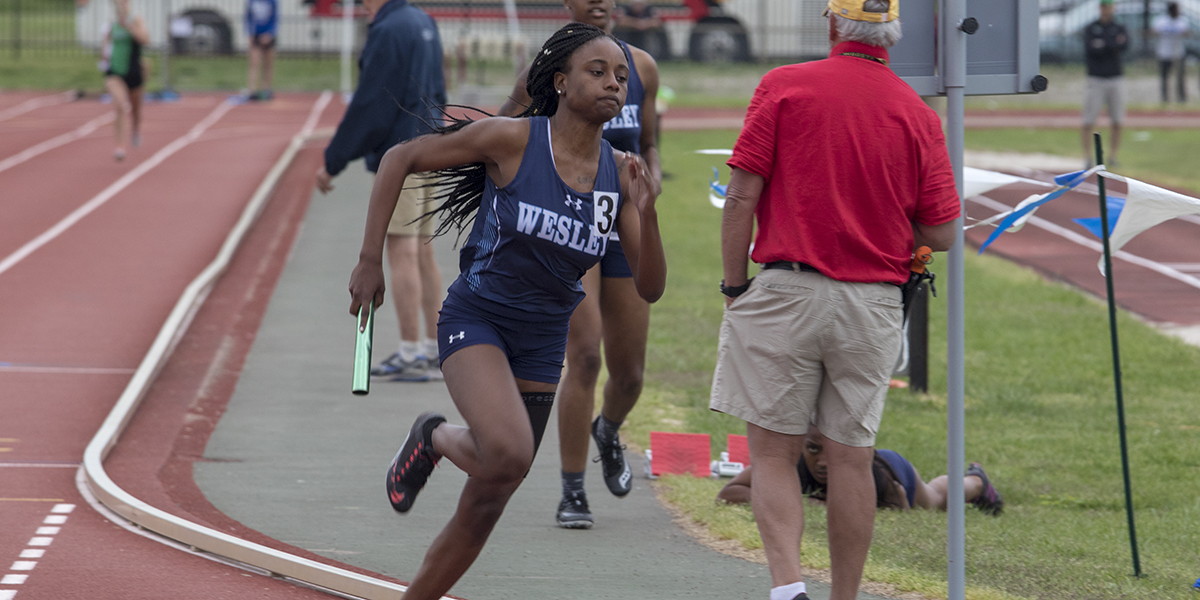 Wesley women place fifth at CAC Track & Field Championships