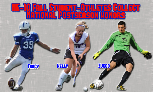 Numerous NE-10 Fall Student-Athletes Collect National Postseason Honors