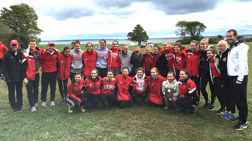 Red Devils Run to Second at Connecticut College Invite