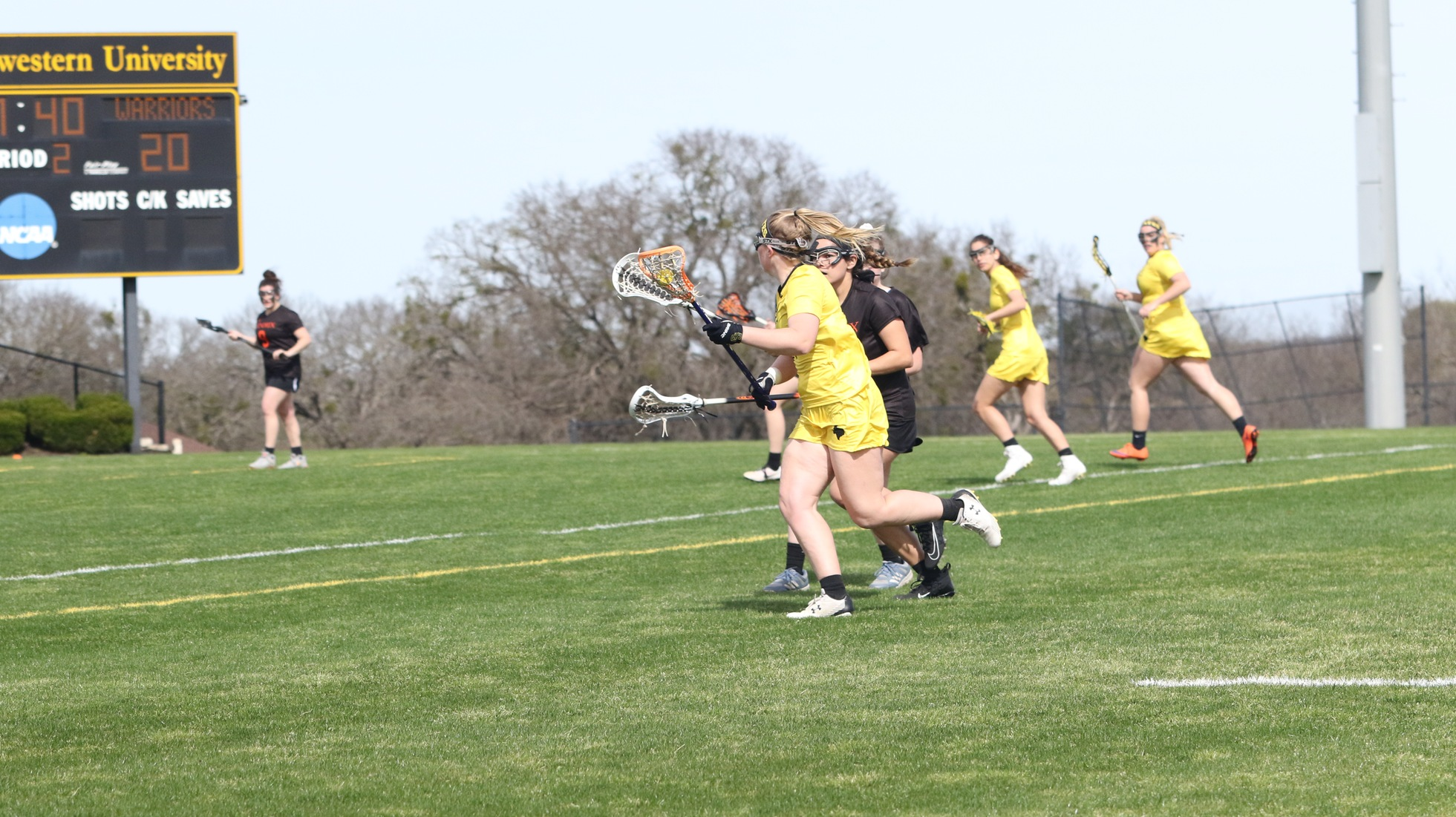 Women's Lacrosse Honors Seniors, Drops Home Opener