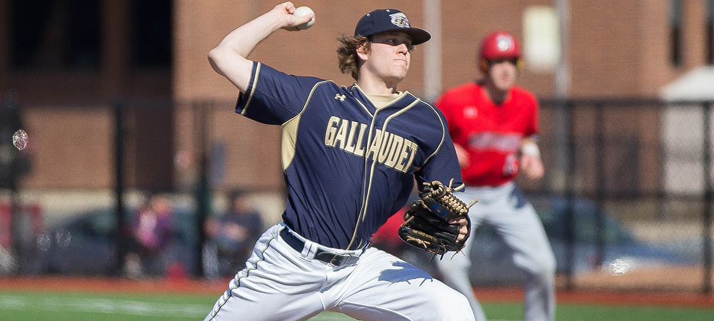 Holsworth throws gem as Gallaudet shuts out Christopher Newport, 1-0