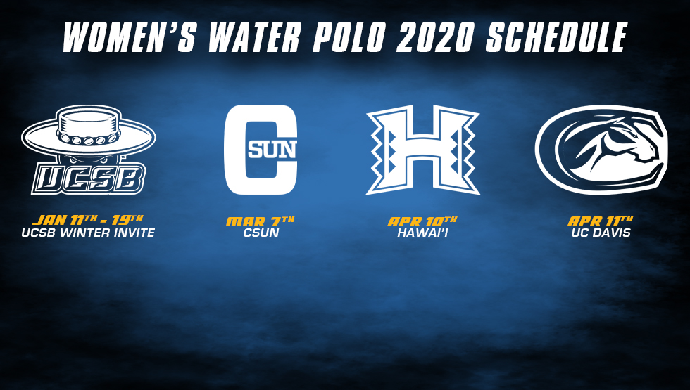 Women's Water Polo Releases 2019-20 Schedule