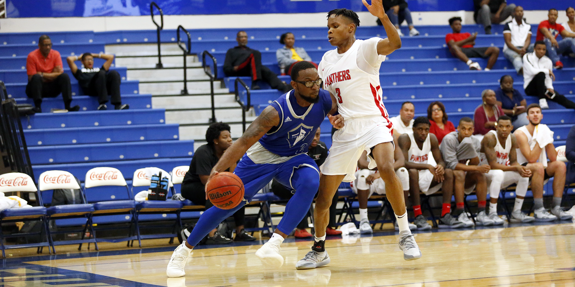 Men's Basketball Secures Season Opener with Late Second-Half Push