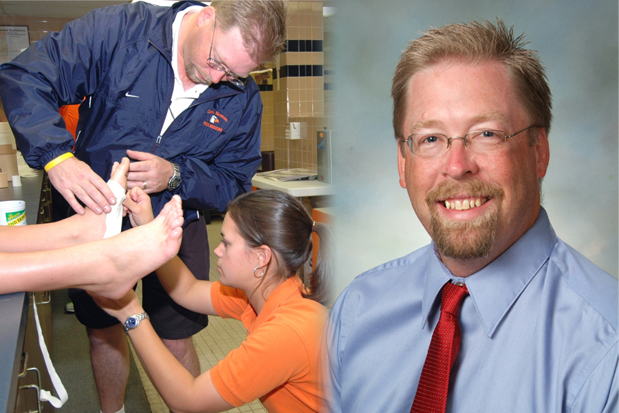 Carson-Newman's Van Bruggen named CUATC's 2012 Head Athletic Trainer of the Year