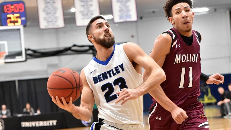 Bentley Takes 3-0 Record to Bridgeport for First Road Contest