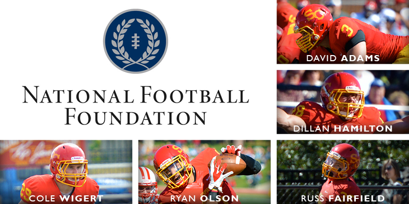 Five football players named to NFF Hampshire Honor Society