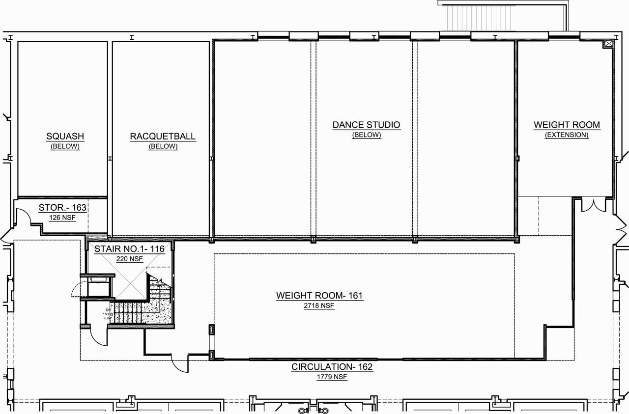 Athletic training room floor plan car interior design for Athletic training facility design