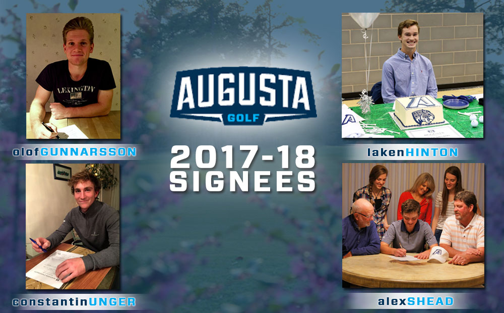 Augusta Men's Golf Gains Four Freshmen In Early Signing Period