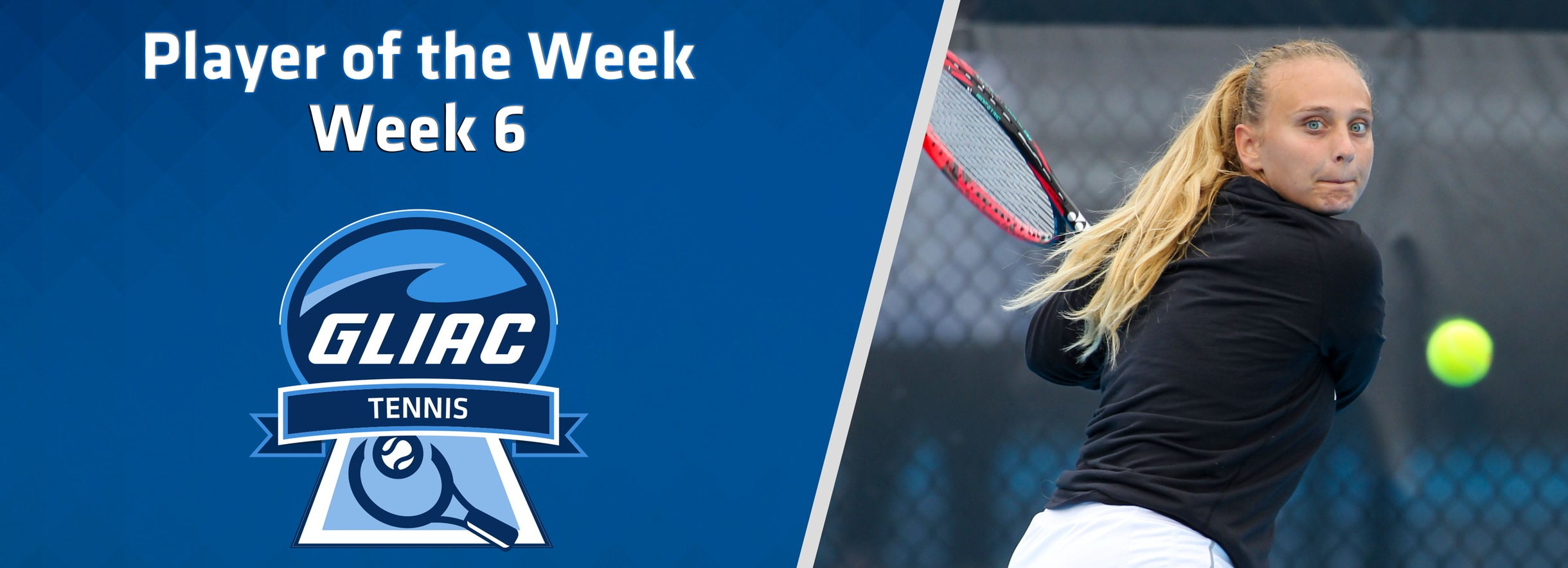 GVSU's Griva Claims GLIAC Women's Tennis Player of the Week Honors