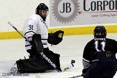 Men's Hockey falls to 12th-Ranked MSOE