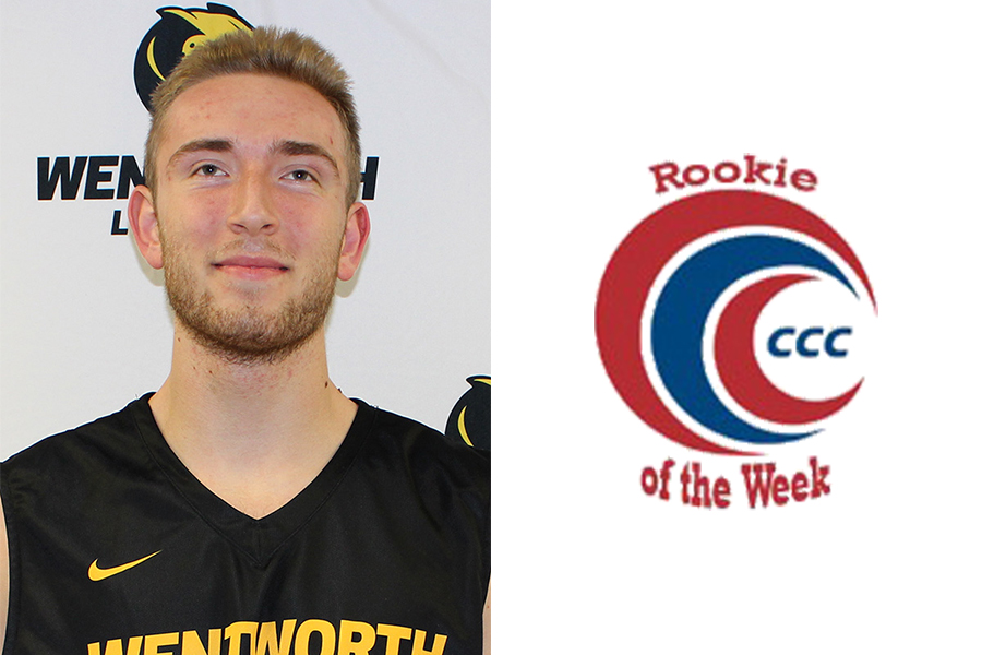 Vartanian Named CCC Rookie of the Week
