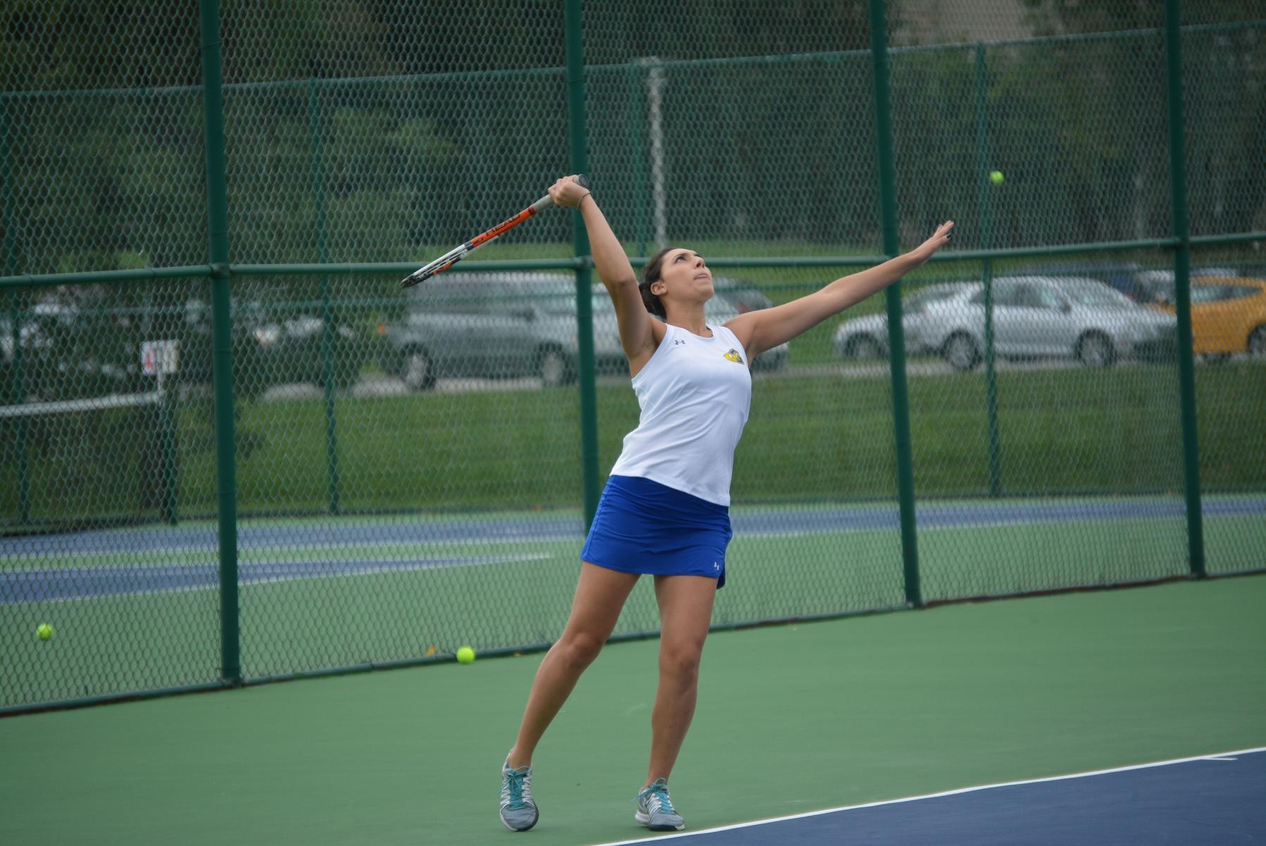 Goucher Pair Wins Home Invitational in Doubles Play