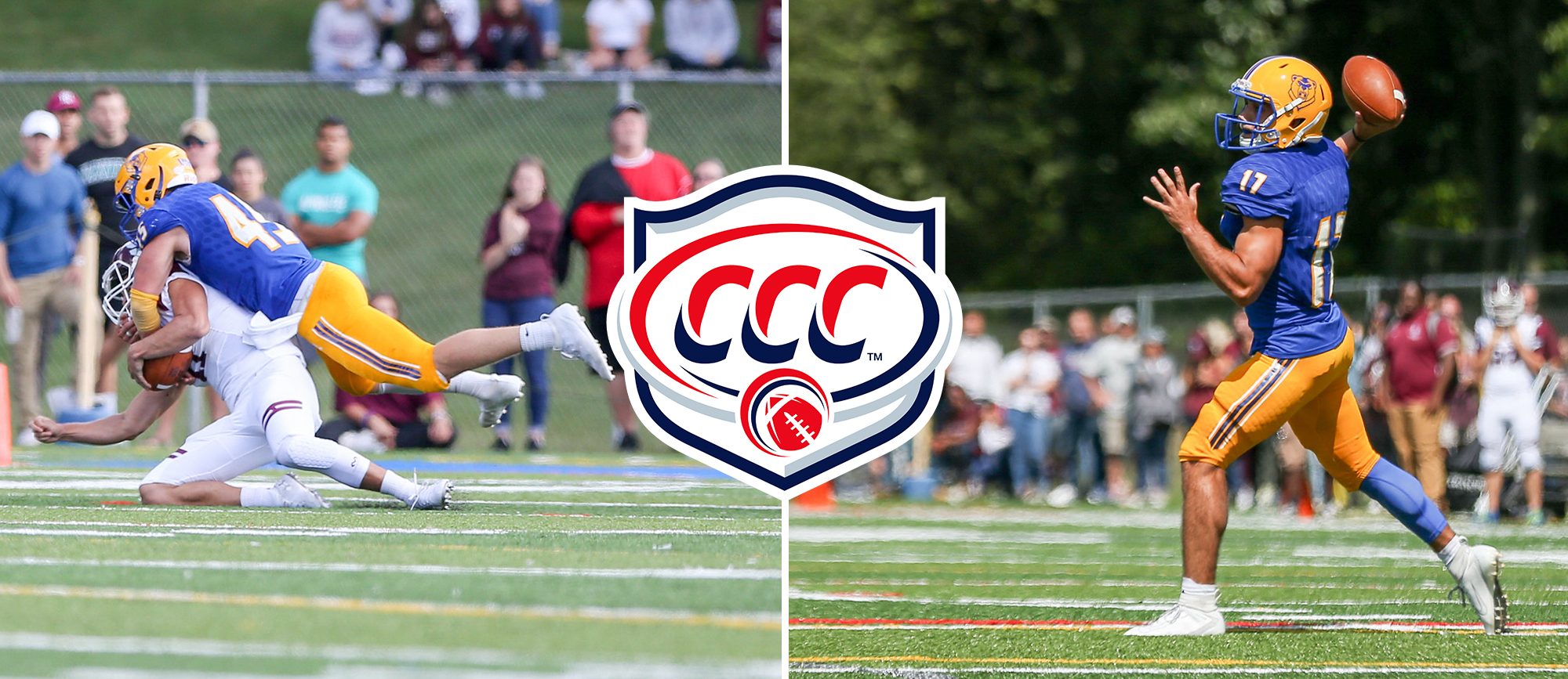 Coleman & Salem Earn CCC Football Weekly Awards