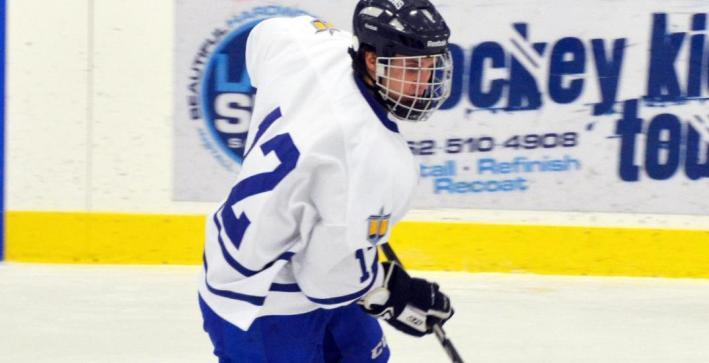 Men's Hockey pushes No. 7/8 Adrian to the edge