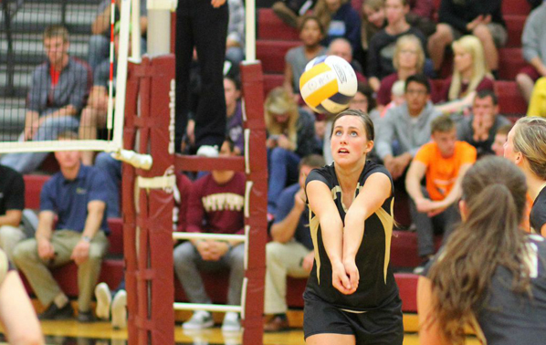 Lady Eagles Fall in Three to Grace
