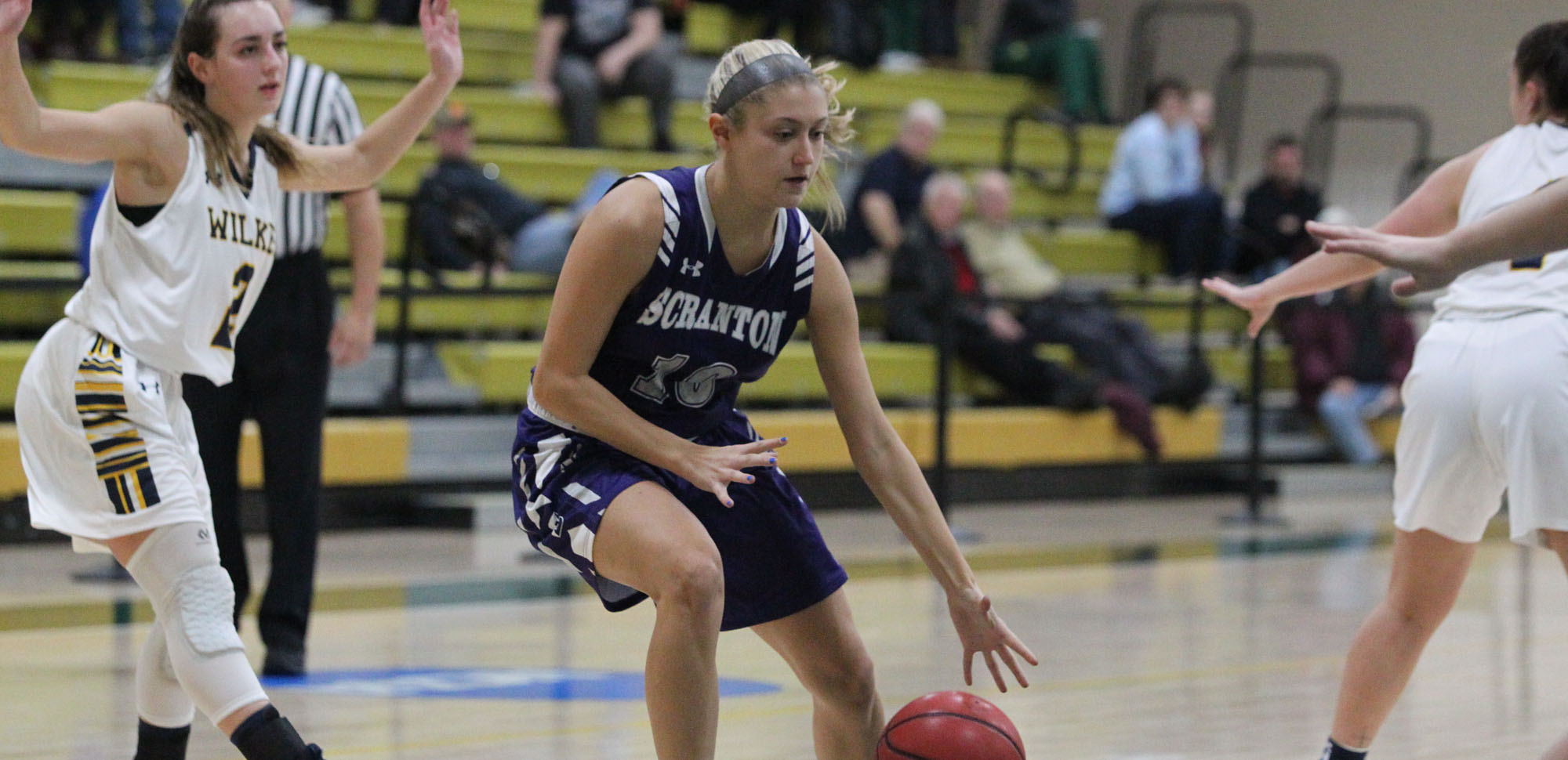 Sophomore guard Ava Gammo scored a career-best 14 points, nailing four three-pointers in an 85-48 win over Goucher on Saturday.