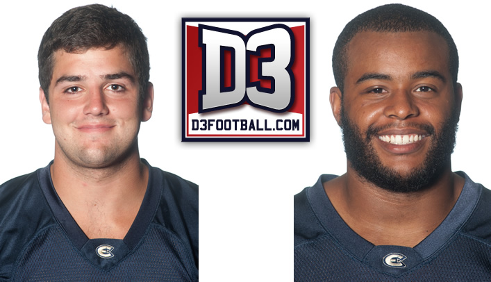 Goetsch & Sweeney Selected to D3football.com All-West Region Team