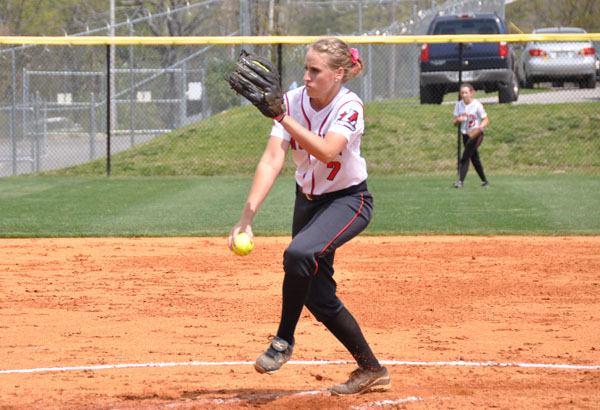 Softball: Folds named GSAC Pitcher of the Week