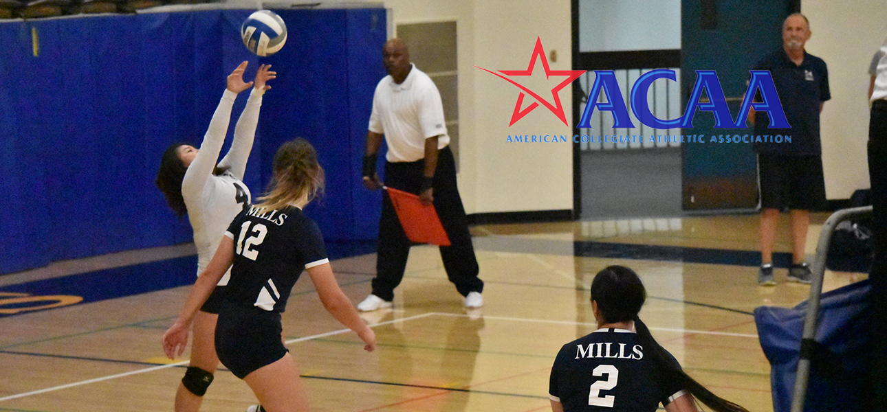 Kang and Williams Recognized on All-ACAA Volleyball Team