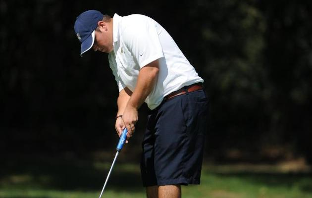 Men's Golf in Fifth after Day One