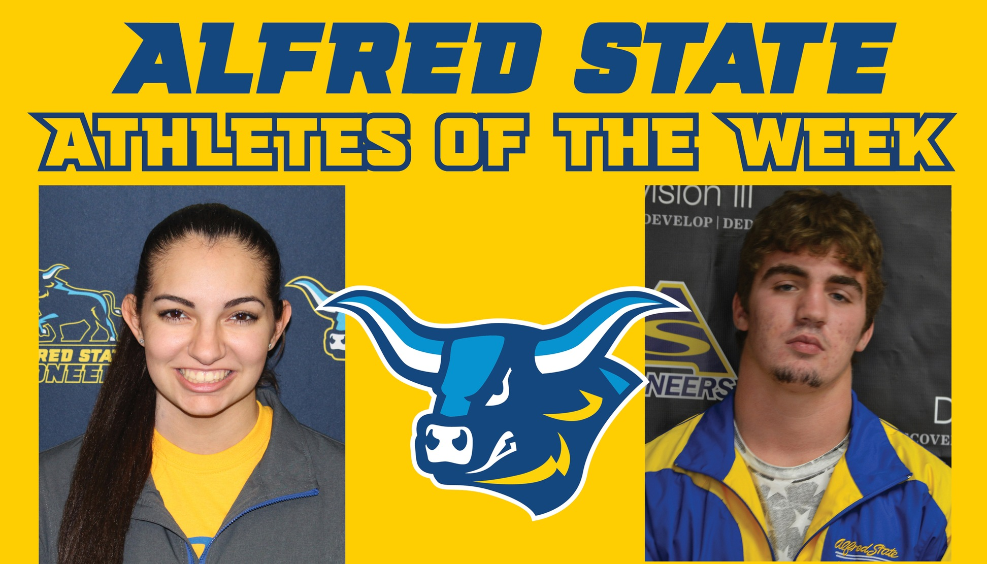 Jessie LaRue and Tristan Almeter named Athletes of the Week