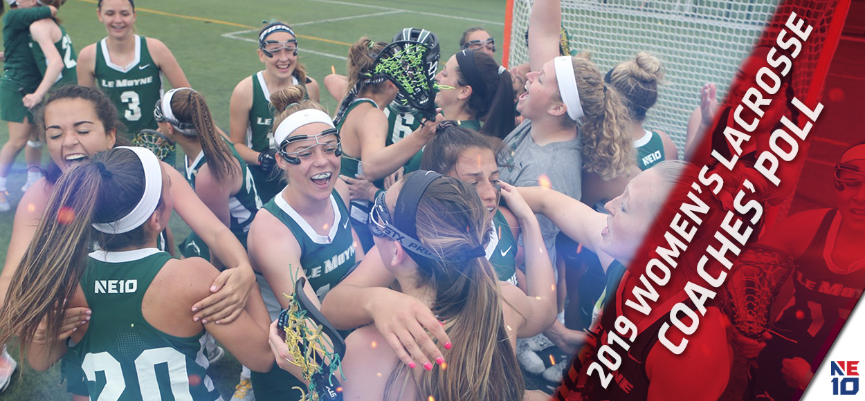 Reigning National Champion Le Moyne Picked to Repeat in NE10 Women's Lacrosse Coaches' Poll