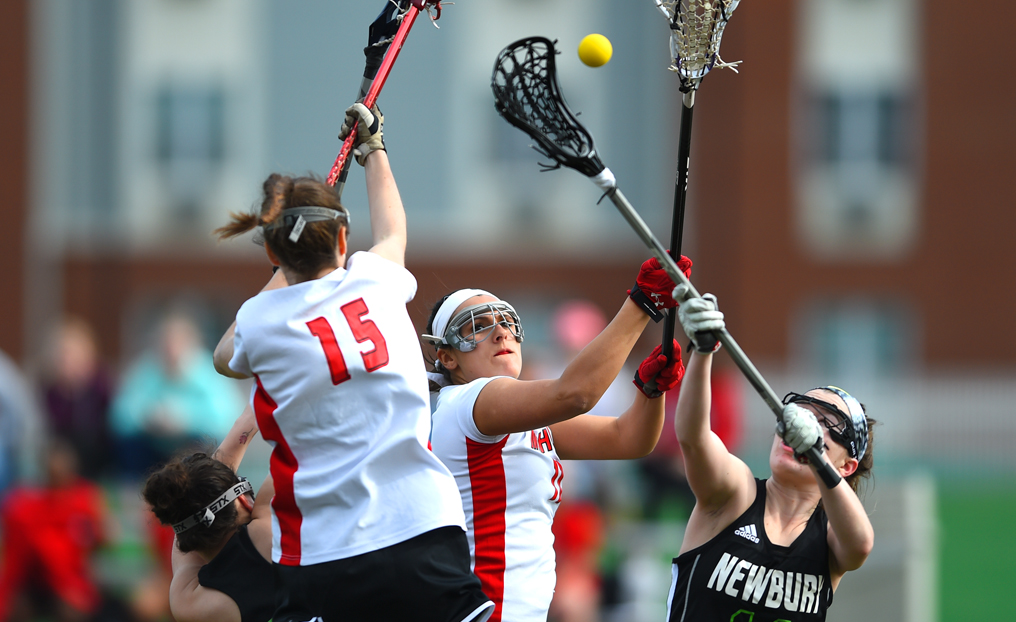 Murtha Sets NCAA Record as WLAX Falls at Bay Path